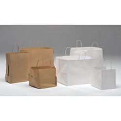 Bolsas de papel 38+35x32* base especial