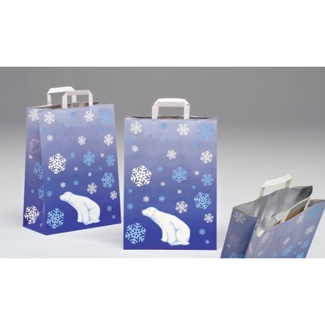 Bolsas de papel 32+17x45 congelados