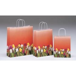 Bolsas de papel 36+12x41 Tulipani
