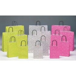 Bolsas de papel 18+8x24 Damasco
