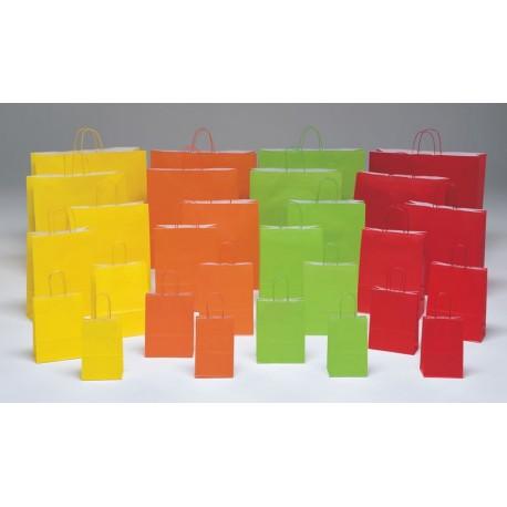 Bolsas de papel 14+8,5x21,5 colores vivos