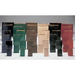 Bolsas de papel 27+12x37 COLORES KRAFT