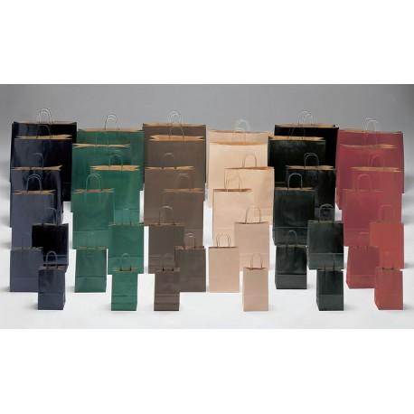 Bolsas de papel 45+15x49 COLORES KRAFT