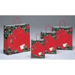 Bolsas de papel 45+15x49 Stella di Natale