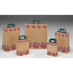 Bolsas de papel 22+10x29 Fascia Fiorita