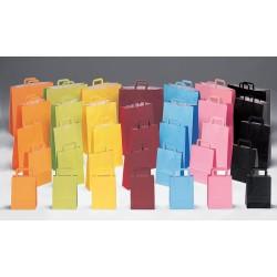 Bolsas de papel 27+12x37 bicolor