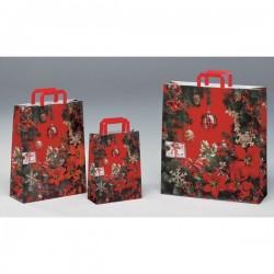 Bolsas de papel 45+15x49 Christmas Stars