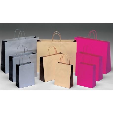 Bolsas de papel 54+16x43+6 bicolor